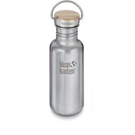 Klean Kanteen Reflect Bottle Bamboo Cap 532ml mirrored stainless
